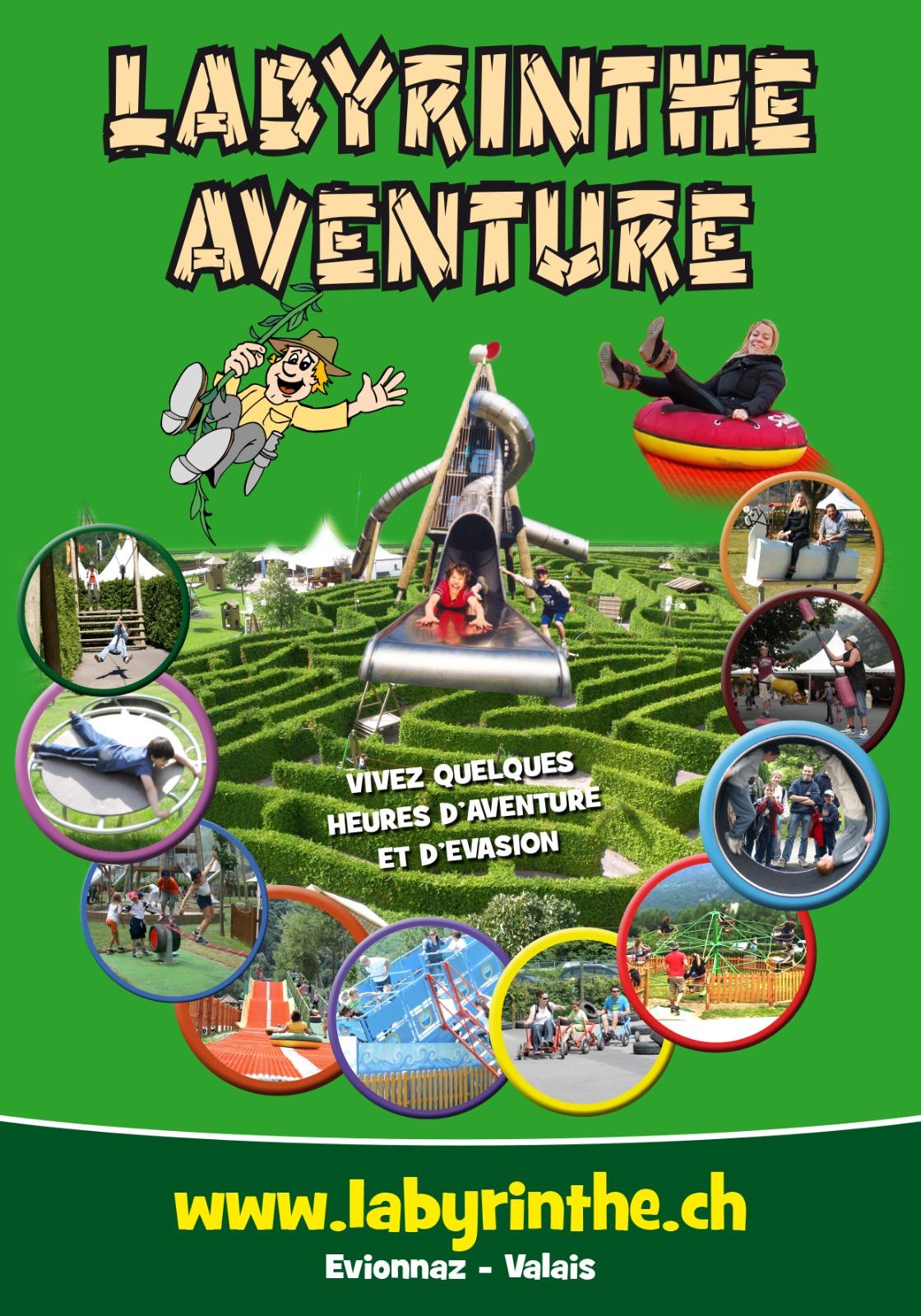 Labyrinthe Aventure : Un parc de Loisirs pour les Grands et les Petits