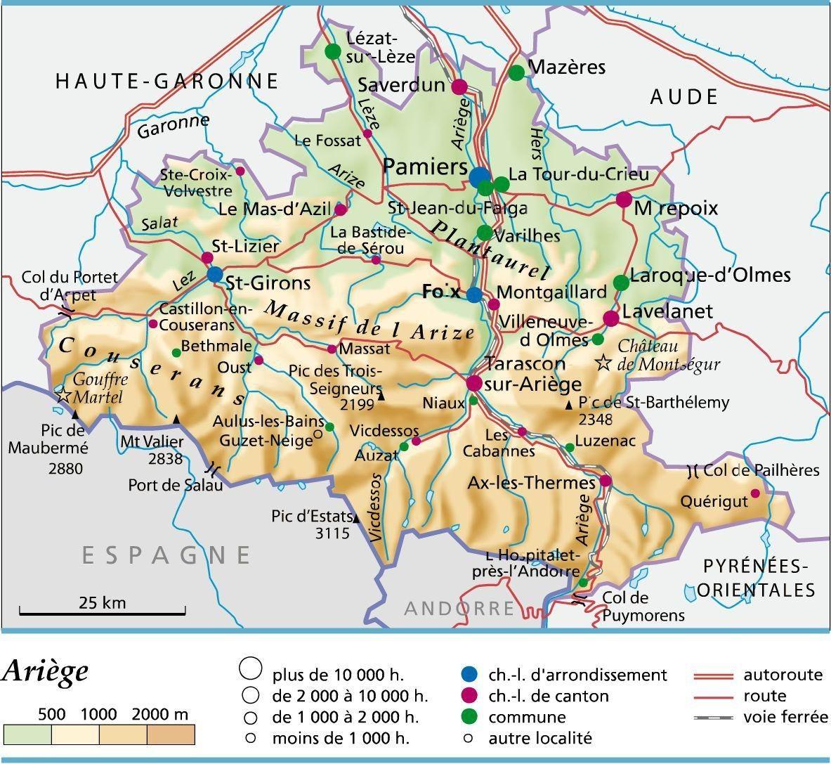 Connaissez-vous l'Ariège?